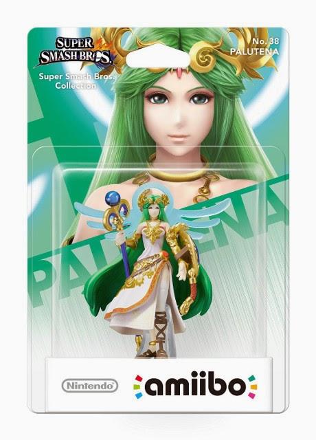 JUGUETES - NINTENDO Amiibo - 38 : Figura Palutena   (Junio 2015) | Videojuegos | Muñeco | Super Smash Bros Collection  Plataforma: Wii U & Nintendo 3DS