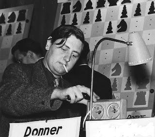 El ajedrecista Jan Heinz Donner