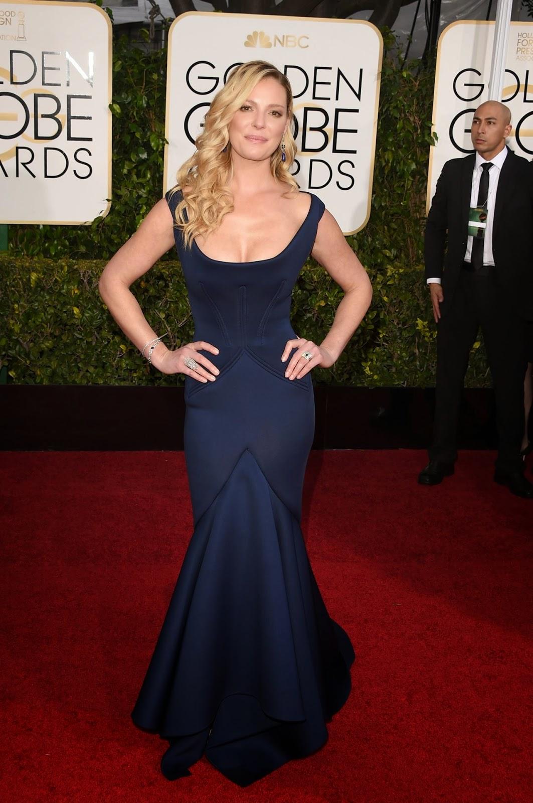 Katheine Heigl – 2015 Golden Globe Awards in Beverly Hills