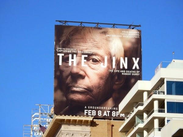The Jinx series premiere billboard