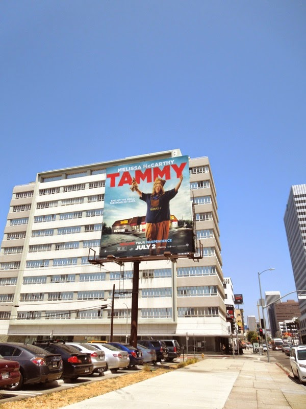 Tammy movie billboard