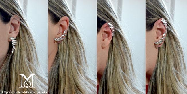 Diy earcuff diy earrings diy fashion diy diy earrings