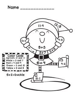 Worksheets Christmas 1st Grade  Worksheets 1st grade christmas math worksheets pictures to pin on pinterest math