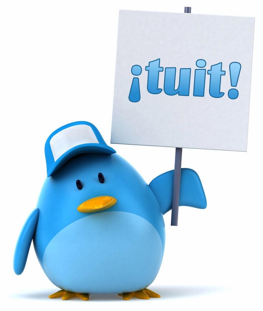 ... o en Twitter !!!