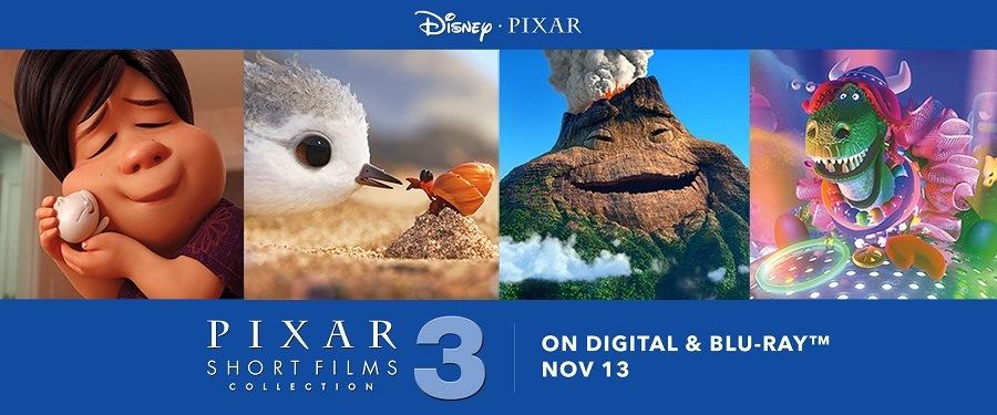 Pixar - Coleção de Curtas Volume 3 2018 Filme 1080p Bluray Full HD completo Torrent