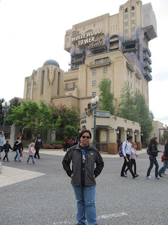 Paris Disneyland Walt Disney Studios Twilight Zone Hollywood Tower of Terror