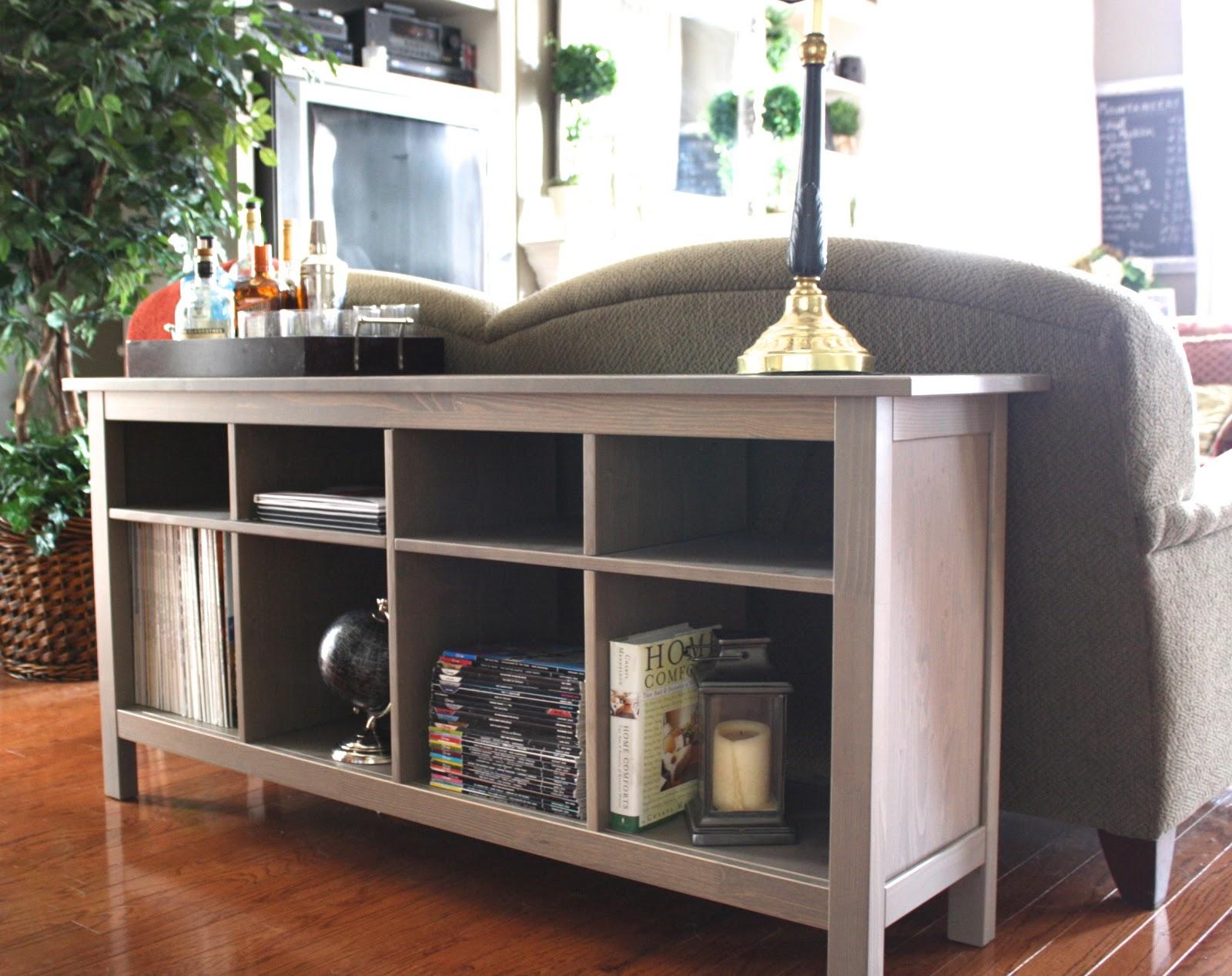 Foyer Table Craigslist : Craigslist sofa table console project