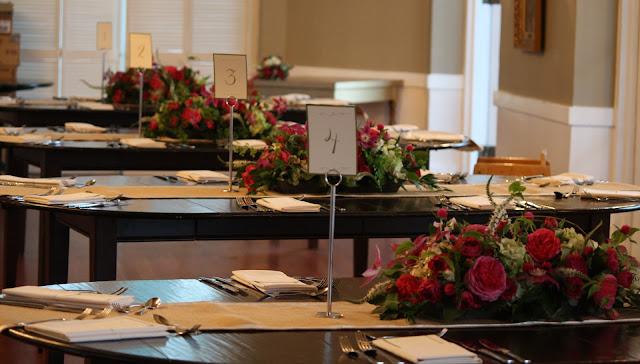 Highlands Country Club Card Reception Centerpiece - Splendid Stems Event Florals