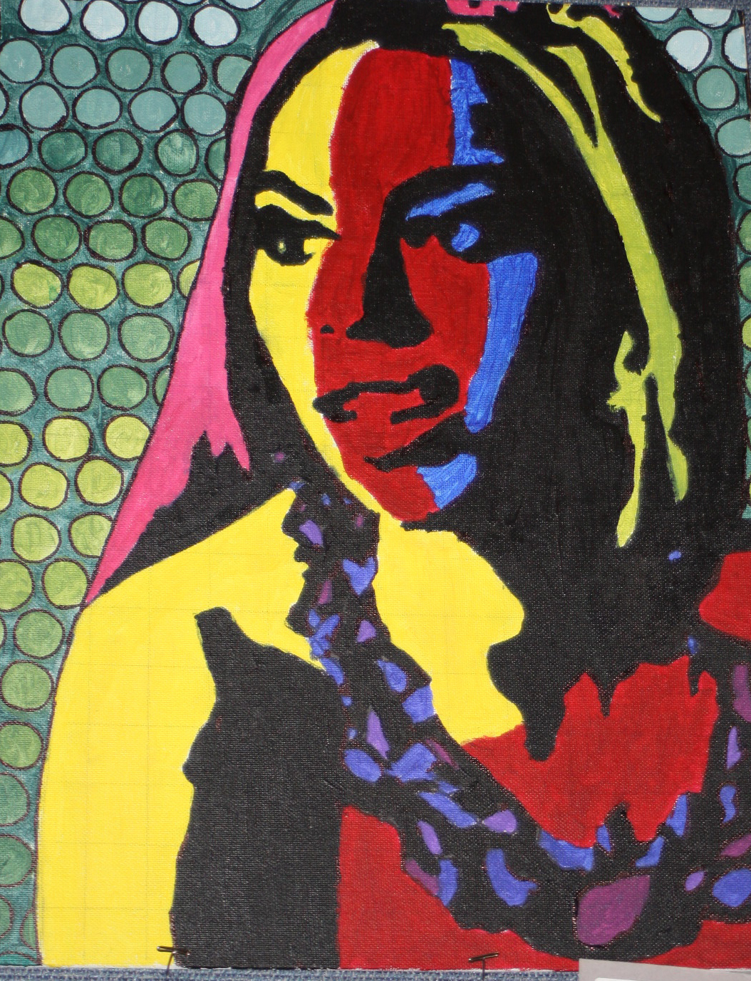 Andy Warhol Pop Art( Color Theory) Painting | Artist for a Day