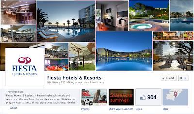 Para participar solo tienes que ir a la aplicación especialmente creada en la fanpage de Fiesta Hotels&Resorts