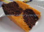Steamed Orange and Chocolate Cake