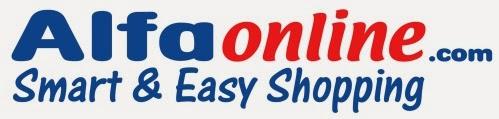Alfaonline Smart dan Easy Shopping Toko belanja online murah Promo Heboh belanja hanya 1 rupiah