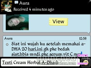 My Lovely Customer (Aura Ibraheim - Jogja)