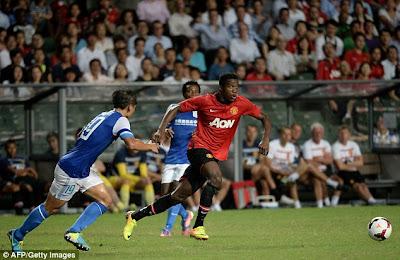 Kitchee dilibas Manchester United dengan skor 5-2