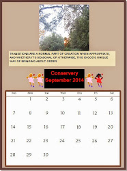 Conservery Calendar - click to enlarge