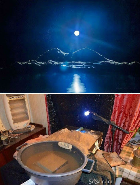 5d3a.com-موقع-خدع-بصري -optical-illusion-moonlit-night-image-optical-illusion