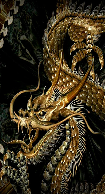 Awesome Dragon Digital art iPhone 6 Plus Wallpaper