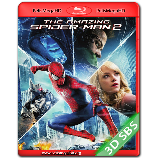THE AMAZING SPIDER-MAN 2: EL PODER DE ELECTRO (2014) BLURAY 3D SBS 1080P ESPAÑOL LATINO – INGLÉS