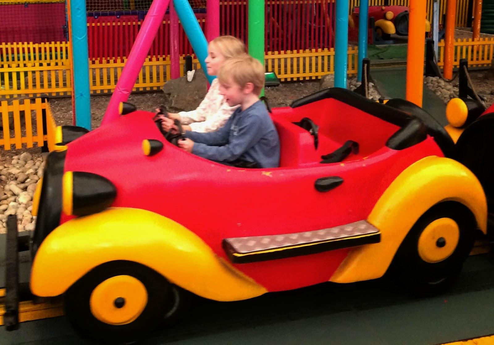 Butlins Bognor car ride