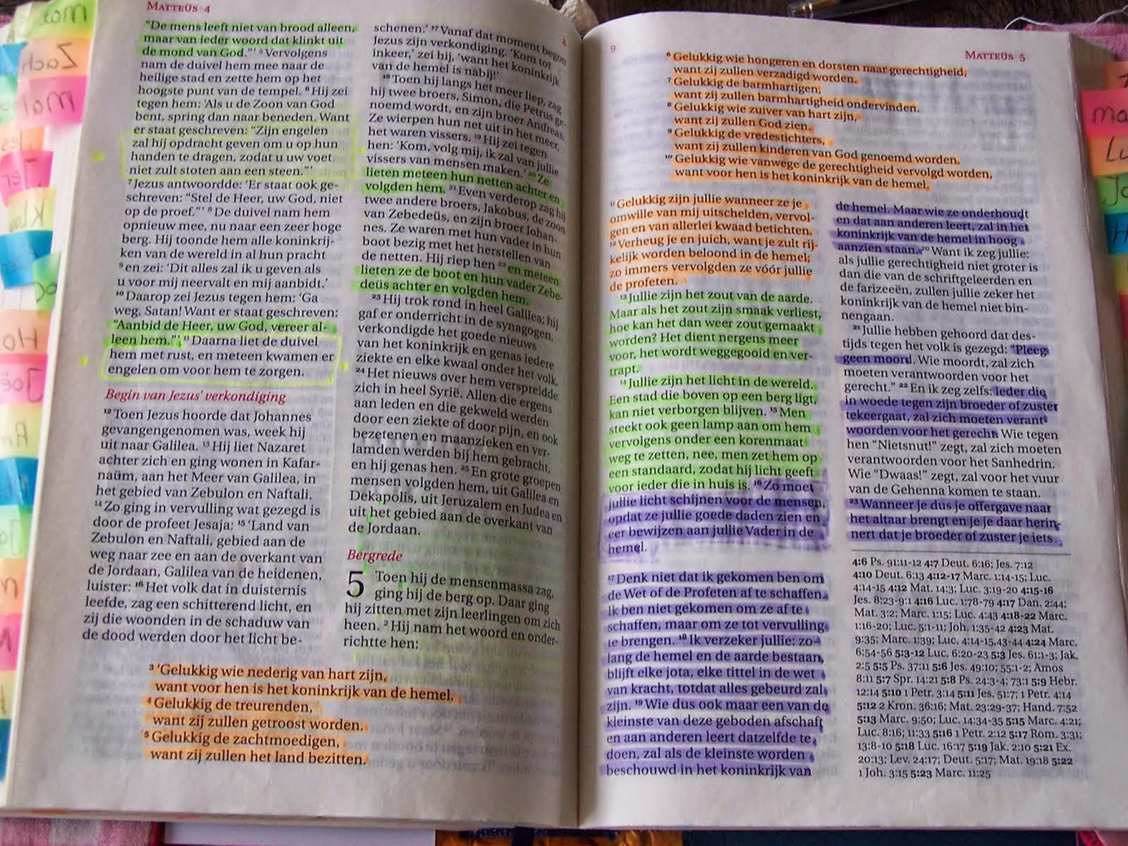 Kleur je Bijbel