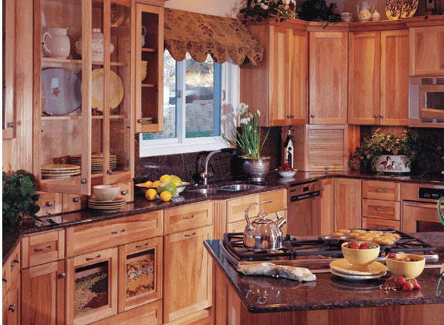 Beautiful wallpapers kitchen interior wallpaper for Thick kitchen wallpaper