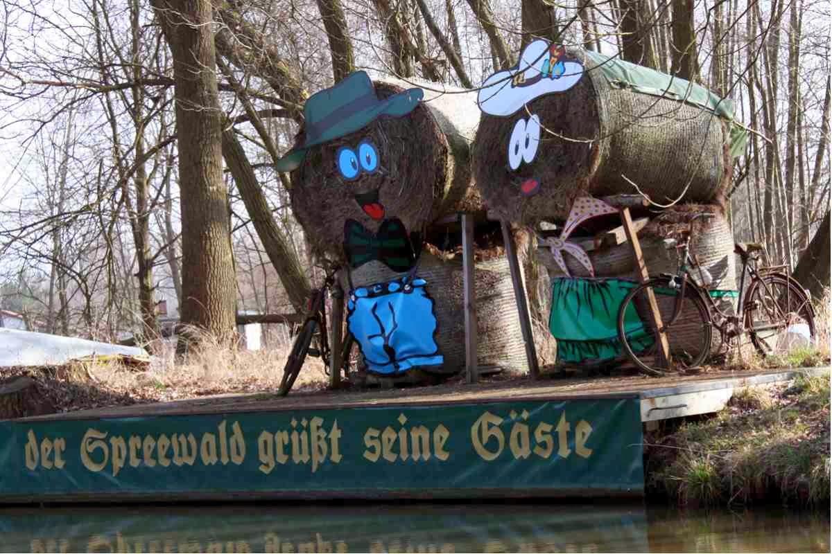 Der Spreewald grüßt seine Gäste © Copyright Monika Fuchs, TravelWorldOnline