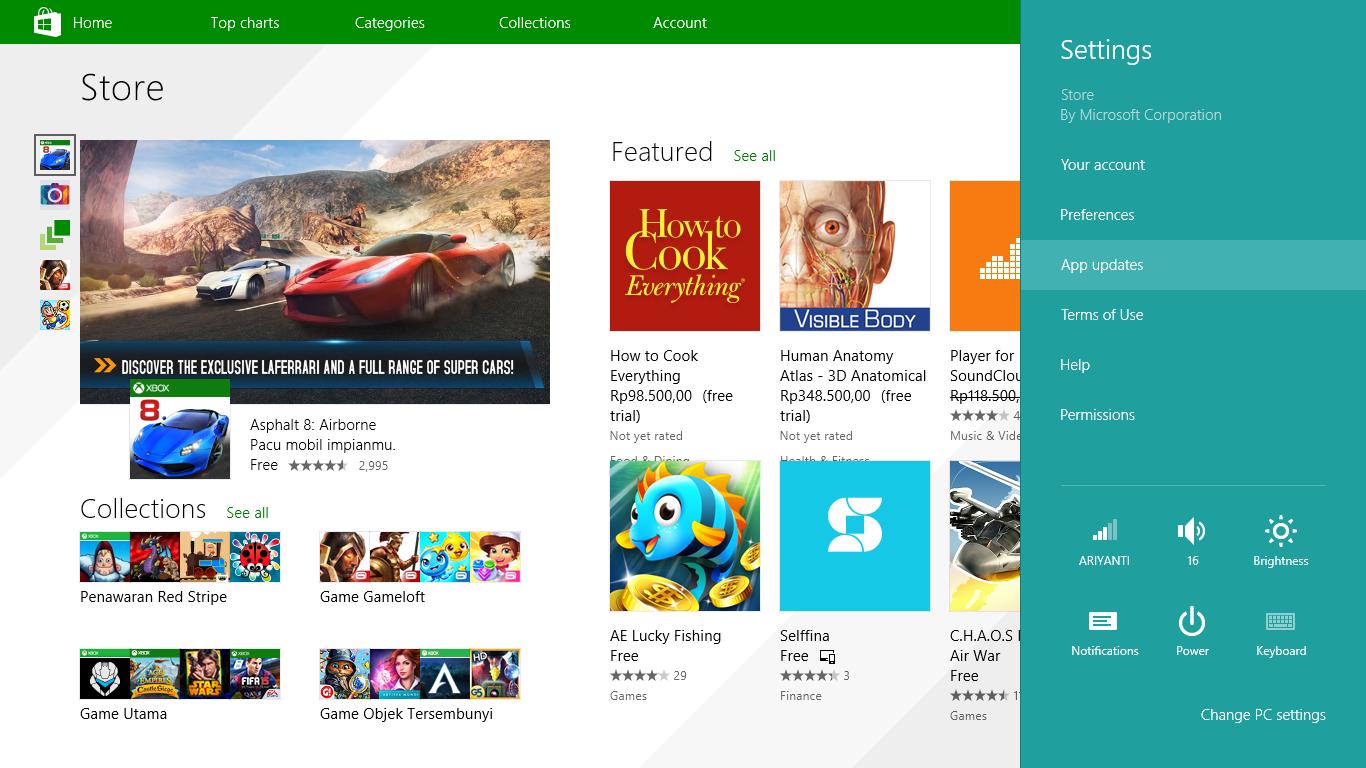 Store Windows 8.1