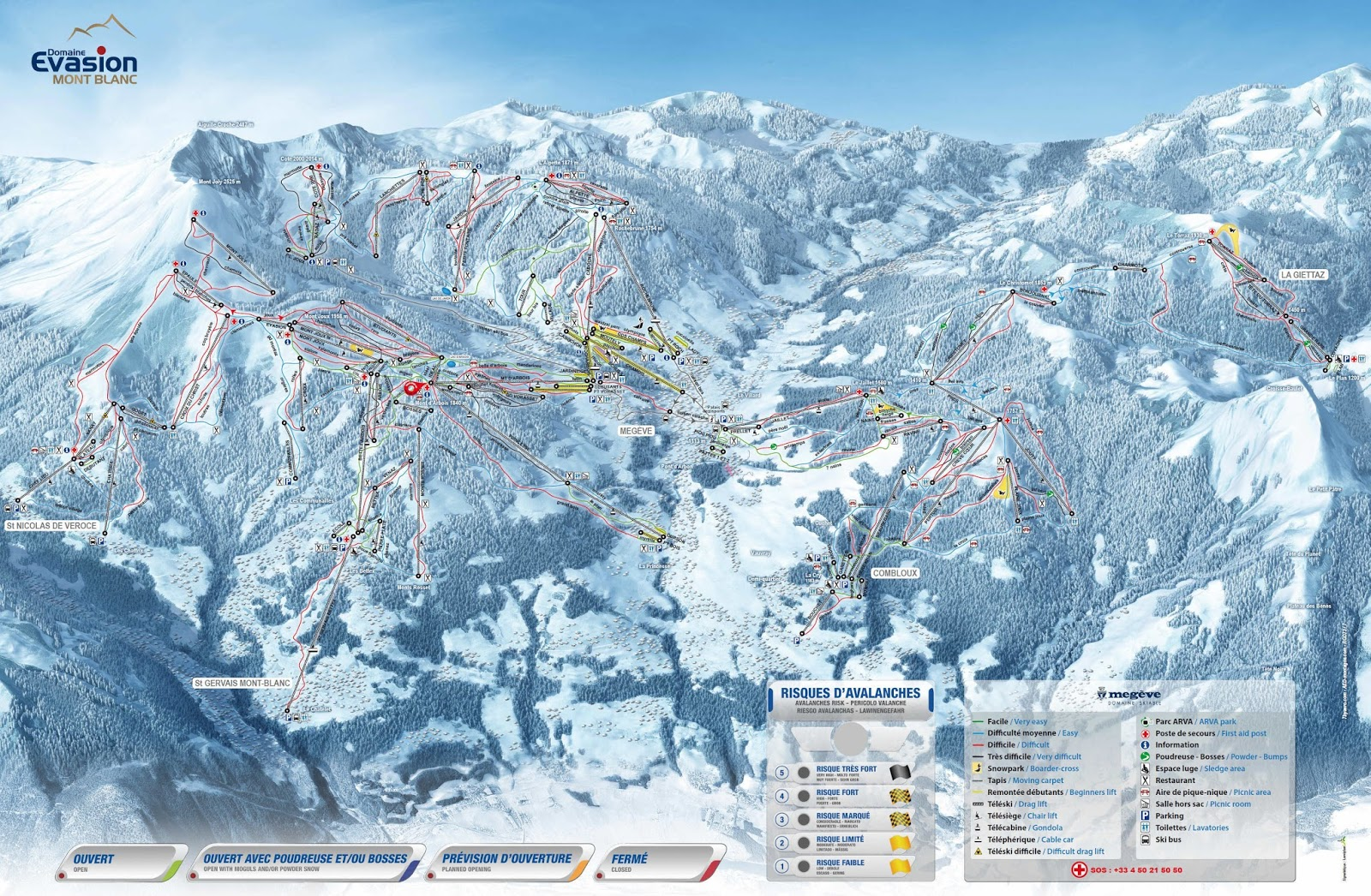 Skiing in megeve what 39 s new for megeve this season for Carrelage mont blanc sallanches