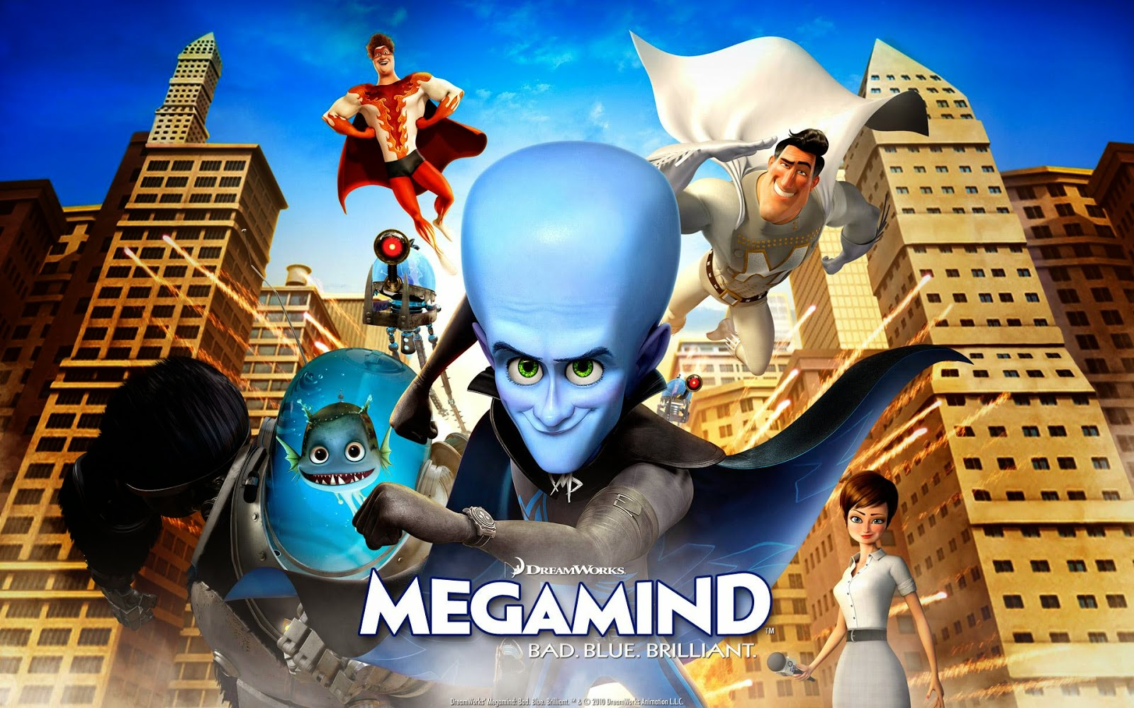 Megamind {Hin-Eng} Anime Movie Online, Download Anime ...