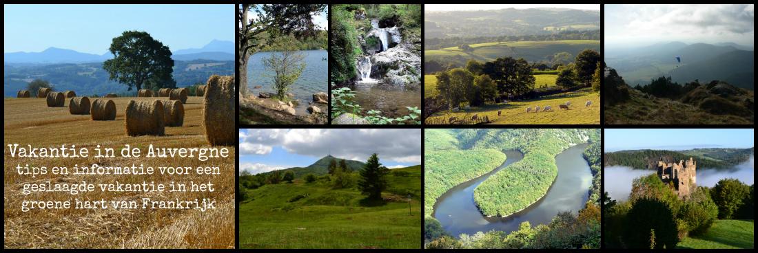 Vakantie in de Auvergne. De Auvergne in midden Frankrijk is de ideale vakantiebestemming!