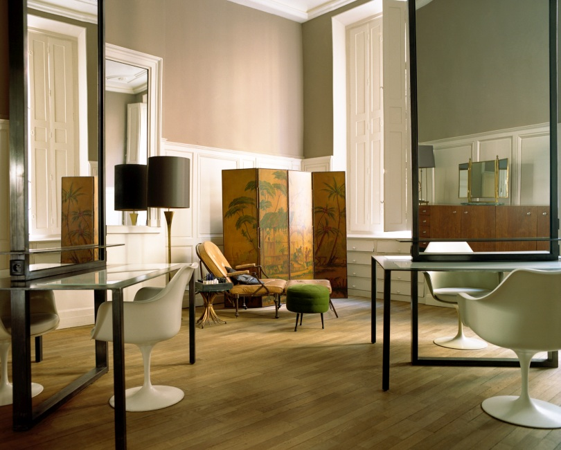 Oko design blog david mallet hair salon in paris for Salon design paris