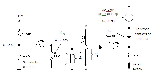 hobby in electronics sound activated switch using op amp 741 rh hobbyelectron blogspot com