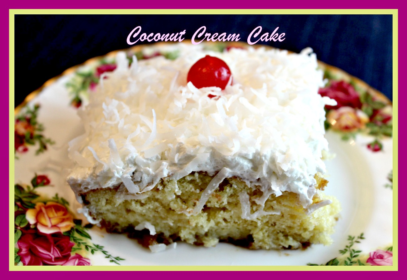 Sweet Tea and Cornbread: Coconut Cream Cake!