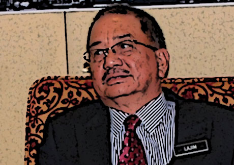 Lajim Ukin bakal CM Sabah? (Update!)