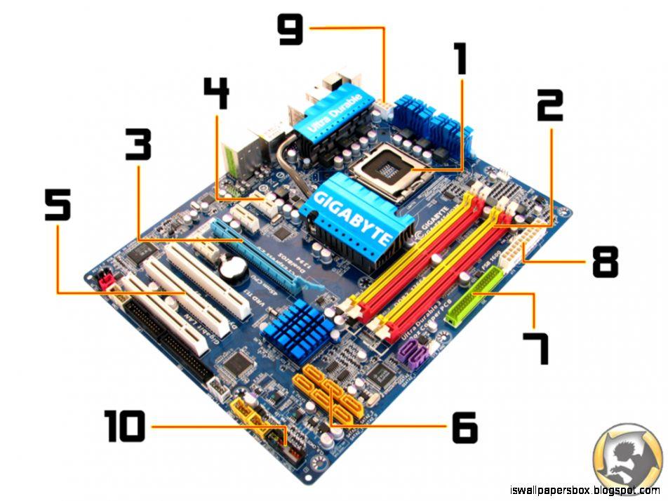 Computer Parts Diagram Wallpapers Wallpapers Box