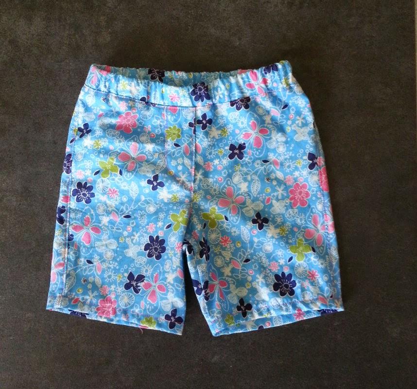 korte broek, katoen, eigen ontwerp