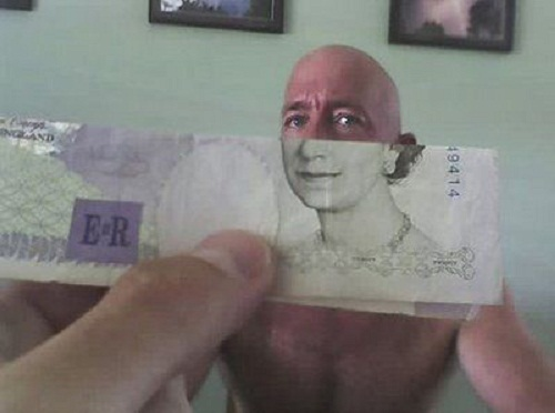 money and face funny pic