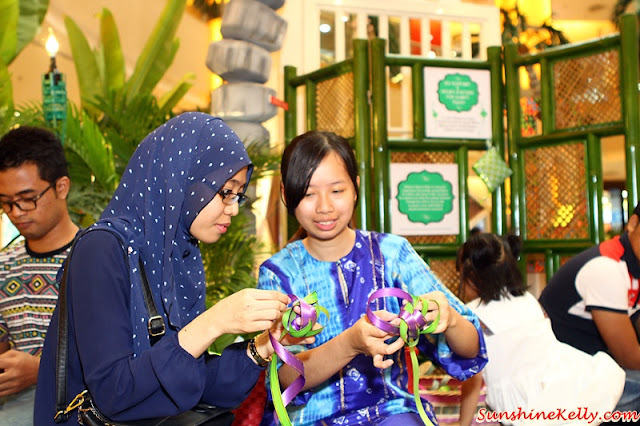 Weaving A Joyous Raya, Sunway Pyramid, sunway pyramid always so hot, anyaman, ketupat