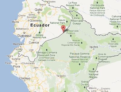 epicentro del temblor de hoy en peru y ecuador 15 junio 2012