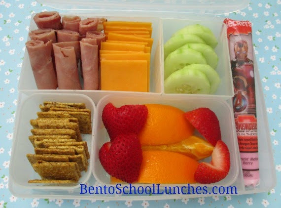 Lunchables school lunch