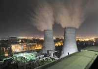 A general view shows a coal-burning power station at night in Xiangfan, Hubei province September 15, 2009. (Credit: Reuters/Stringer) Click to Enlarge.