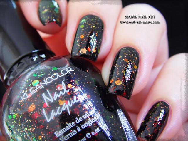 Kleancolor Chunky Holo Black1