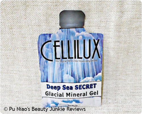 Celilux Deep Sea Secret Glacial Mineral Gel