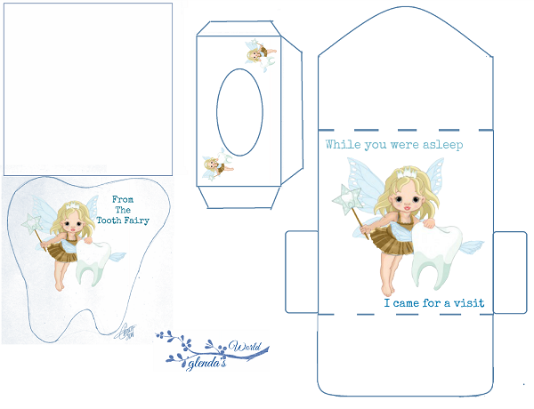 Tooth Fairy Card Kit