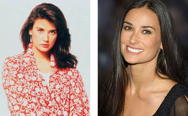 Demi+Moore Real names of famous people (10 pics)