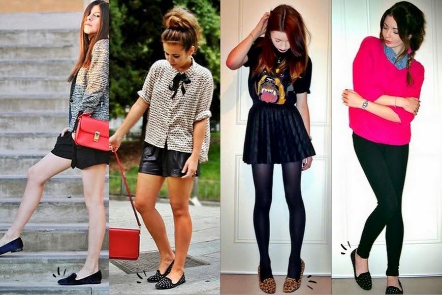 imagens de looks slippers