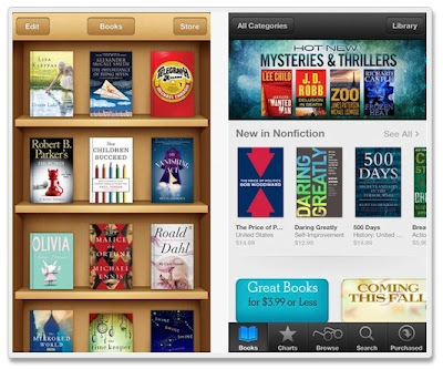 App Store version 3.0.  iBooks
