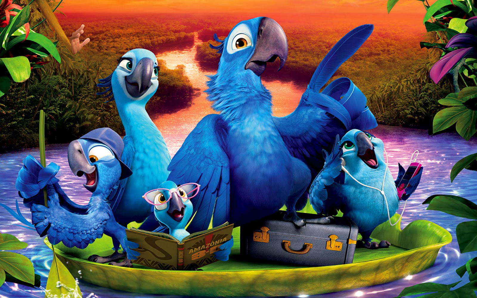 Rio 2 2014 animatedfilmreviews.filminspector.com