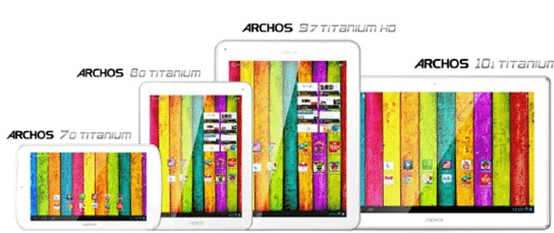 Does Archos Want to Mess with Apple With its Cheapest Tablet PC Titanium 70, 80, 97 and 101?