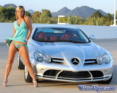 nude girls and mercedes